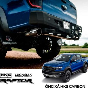 ỐNG XẢ HKS LEGAMAX CARBON DUAL TAIL CHO FORD RANGER RAPTOR-2
