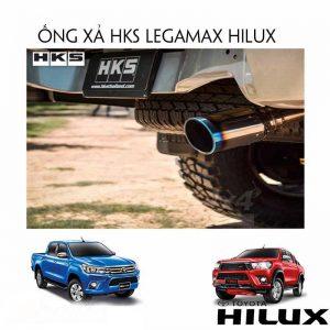 ỐNG XẢ HKS LEGAMAX CHO TOYOTA HILUX (2015+)-1
