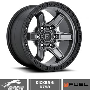 Mâm Fuel Kicker 6 - D698 | 17x9