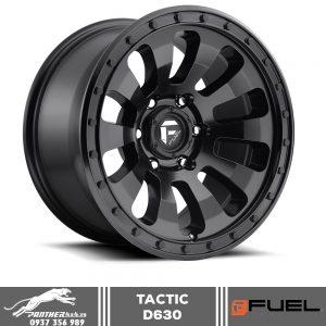 Mâm Fuel Tactic – D630 | 18x9