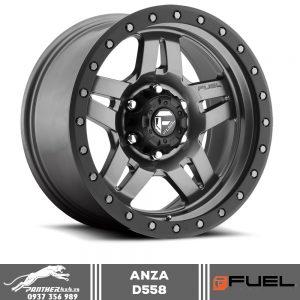 Mâm Fuel Anza D558 | 18x9