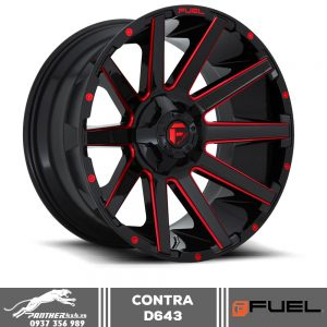 Mâm Fuel Contra D643 | 18x9