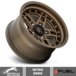 Mâm Fuel Nitro D669 | 20×9