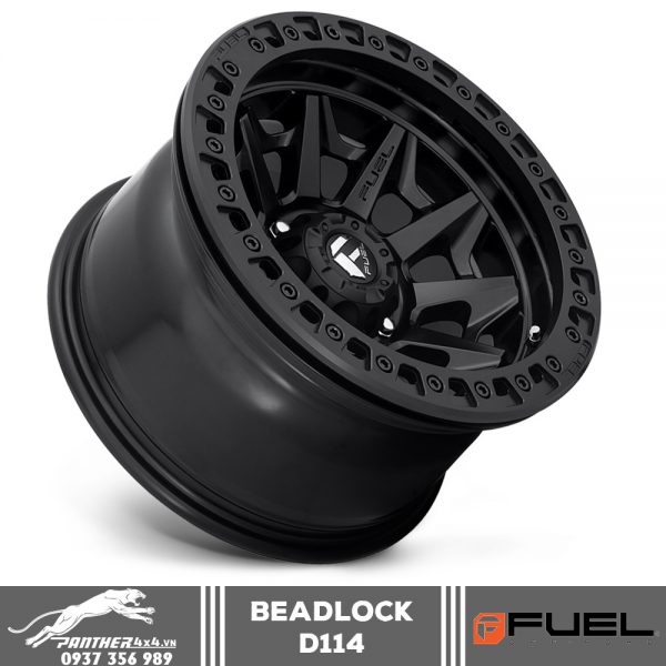 Mâm Fuel Beadlock - D114   17x9