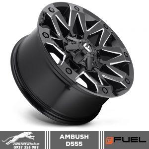 Mâm Fuel Ambush - D555 | 18x9