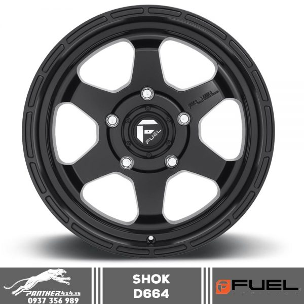 Mâm Fuel Shok - D664 | 18x9