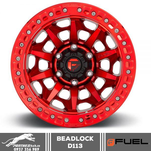 Mâm Fuel Beadlock – D113 | 17x9