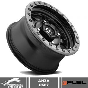 Mâm Fuel Anza D557 | 18x9