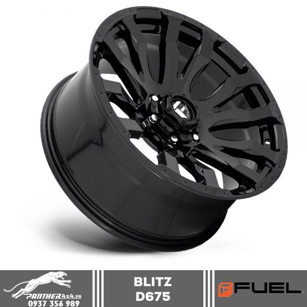 Mâm Fuel Blitz - D675 | 20x10