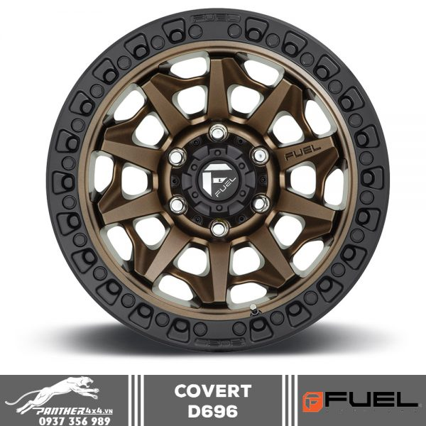 Mâm Fuel Covert - D696 | 17x9