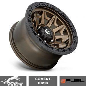 Mâm Fuel Covert - D696 | 17x9 | ET-12