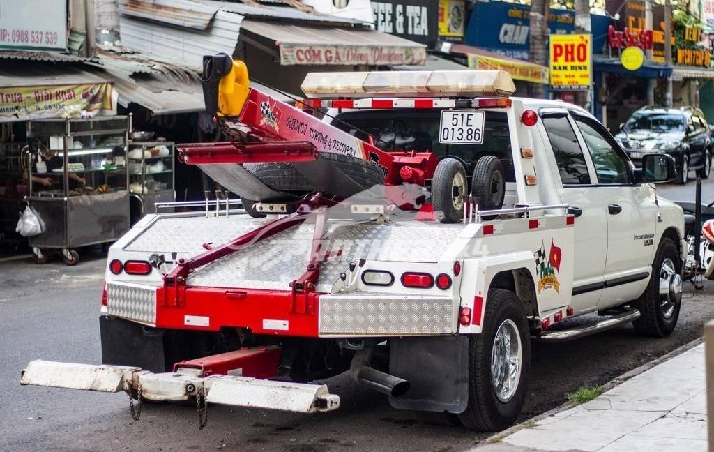 xe bán tải Dodge Ram 3500