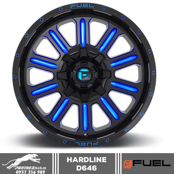 Mâm Fuel Hardline – D646 | 18x9
