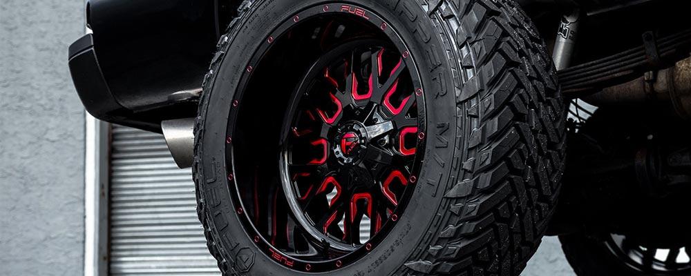 MÂM FUEL STROKE Model D612 - mâm Fuel D612 với hoạ tiết đen và đỏ