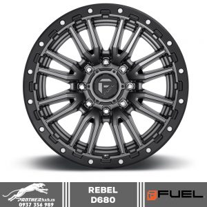 Mâm Fuel Rebel - D680