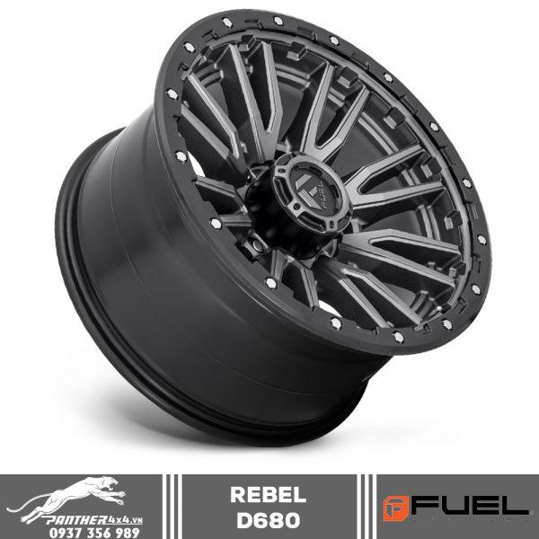 Mâm Fuel Rebel - D680