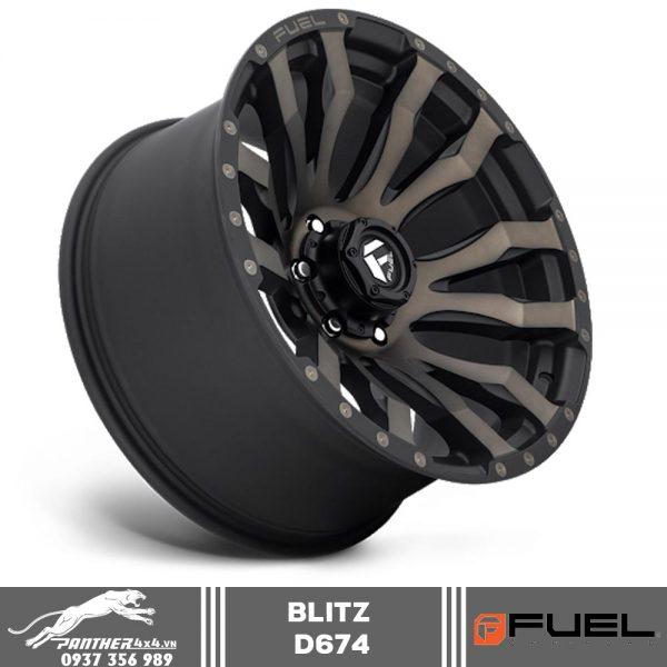 Mâm Fuel Blitz - D674 | 18x9