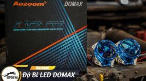 Ford Ranger Wildtrak 3.2 nâng cấp ánh sáng với bi Led Aozoom DOMAX