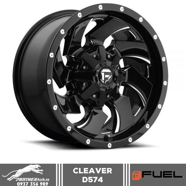 Mâm Fuel Cleaver D574 | 18×9