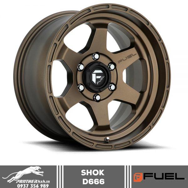 Mâm Fuel Shok - D666 | 18x9