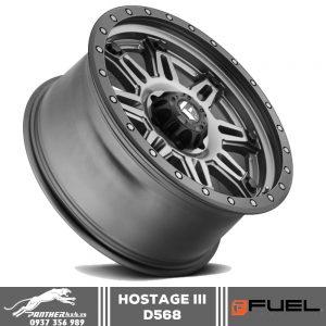 Mâm Fuel Hostage III - D568   18x9
