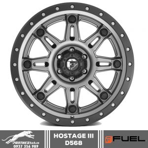 Mâm Fuel Hostage III - D568 | 18x9