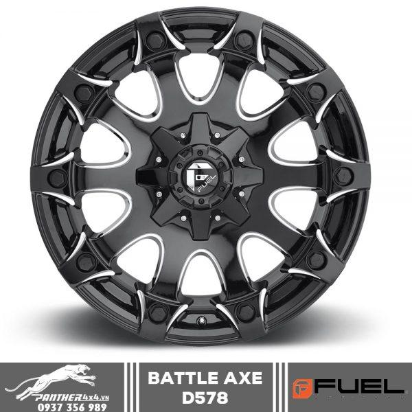 Mâm Fuel Battle Axe - D578