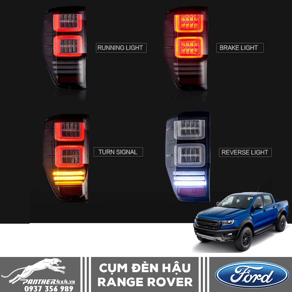 Cụm đèn hậu Ford Ranger đầy phong cách