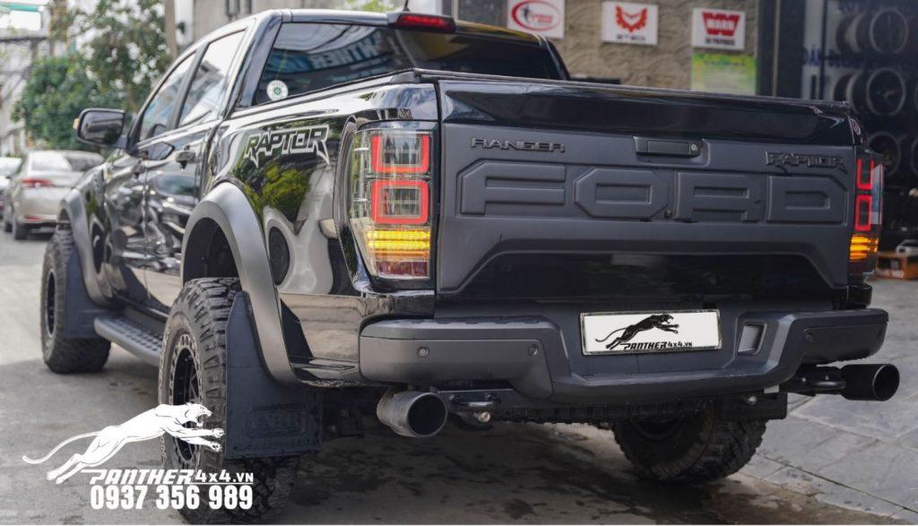 Ford Ranger Raptor Độ Mâm Fuel Unit (Beadlock) màu đen tại Panther4x4