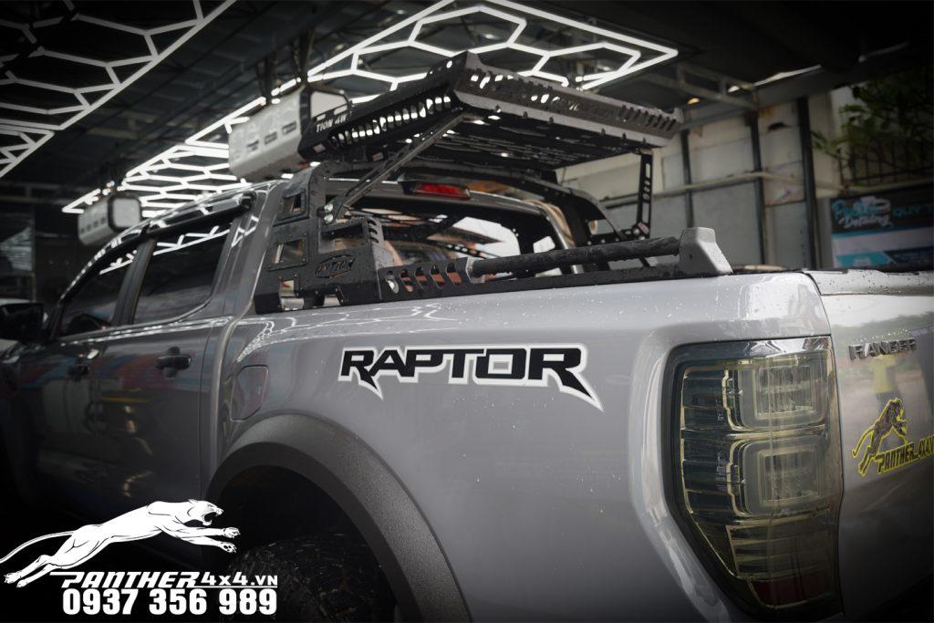 Thanh thể thao 4WD độ đẹp và cứng cáp cho Ford Ranger