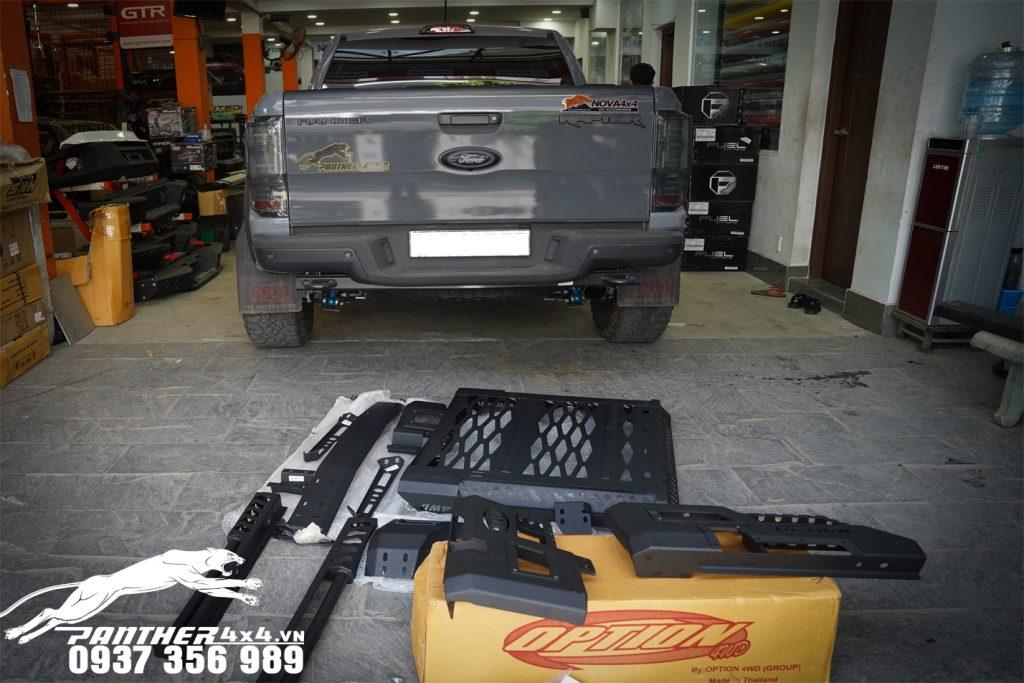 Thanh thể thao 4WD độ đẹp và cứng cáp cho Ford Ranger Raptor